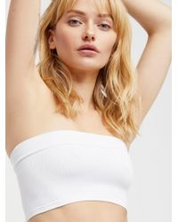 Free People - Not So Basic Bandeau By Intimately - Lyst