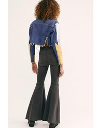 Free People Just Float On Flare Jeans - Blue