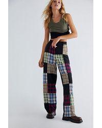The Ragged Priest Error Trousers - Multicolour