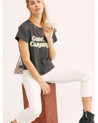 Free People - Gone Camping Tee - Lyst
