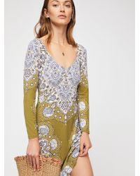 Free People - Gabby Mini Dress - Lyst