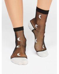 Free People - Lunar Spell Anklet By Peach Socks - Lyst