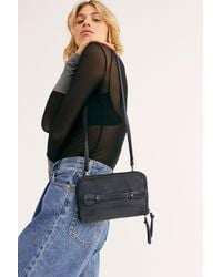 Free People We The Free Traveler Wallet - Black