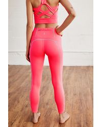 Free People - High-rise 7/8 You're A Peach Leggings By Fp Movement - Lyst