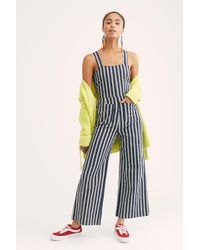 c077a4bcfed5 Free People - Sailor Stripe Jumpsuit By Rolla s - Lyst