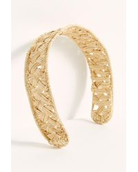 Free People Kaanas Straw Headband - Natural