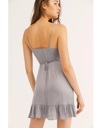Free People - All My Love Shine Wrap Slip By Intimately - Chemise - Lyst