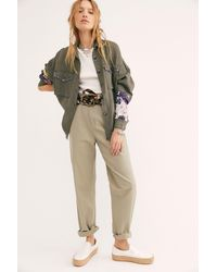Free People We The Free Isabella Patchwork Buttondown - Multicolour