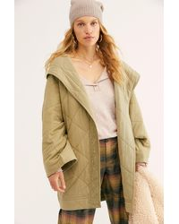 Free People Hottie Quilted Robe By Intimately - Multicolour