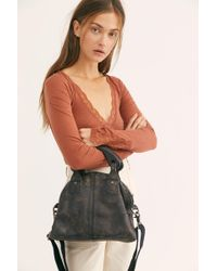 Free People Mini Willow Tote By Fp Collection - Black