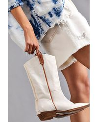 Free People Montage Tall Boots - Multicolour