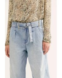 Free People Paloma Slouchy Jeans By We The Free - Blue
