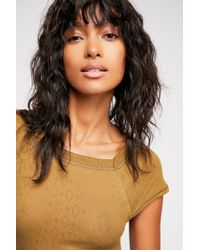 Free People - Let Me Tee By Intimately - Lyst