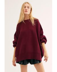 Free People Easy Street Tunic - Red