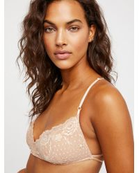 Free People - Essential Lace Racerback By Intimately - Lyst