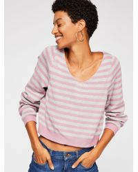 Free People - Silent Storm Sweater - Lyst