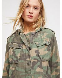 Free People - Not Your Brother's Surplus Jacket - Lyst