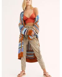 Free People Dust In The Wind Cardi - Multicolour