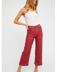 Free People - High Tide A-line Jeans - Lyst