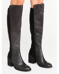 Free People - Landry Over The Knee Boot By Jeffrey Campbell - Lyst