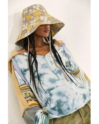 Free People Molly Floral Bucket Hat - Multicolour
