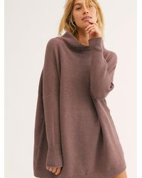 Free People Ottoman Slouchy Tunic - Brown