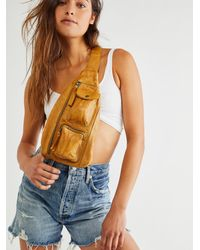 Free People Greenpoint Leather Sling - Multicolour