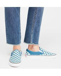 Free People - Classic Checkered Slip-on By Vans - Chemise - Lyst