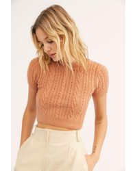 Free People Short + Sweet Crop By Intimately - Multicolour