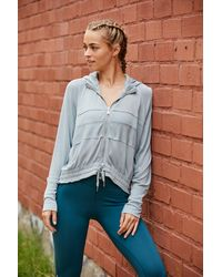 Free People Trekking Out Sweatshirt By Fp Movement - Multicolour