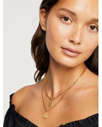 Free People - Rae Layer Necklace - Lyst