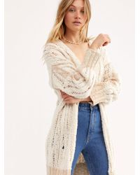 Free People - Tearing Up My Heart Cardi - Lyst