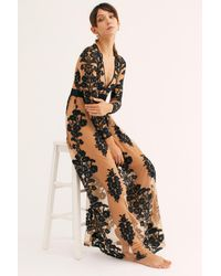 Free People Temecula Maxi Dress By For Love & Lemons - Black