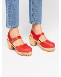 Free People - Abby Clog By Mia Shoes - Lyst