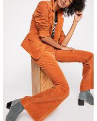 Free People - Heidi Cord Suit - Lyst