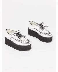 Free People - Wide Eyed Platform By Jeffrey Campbell - Lyst