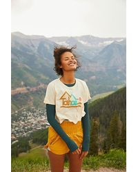 Parks Project Tahoe Faded Crop Tee - Natural