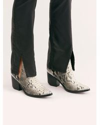 Free People Hunt The Plains Boots - Black