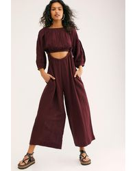 Free People Ready To Escape Dress Set By Endless Summer - Red