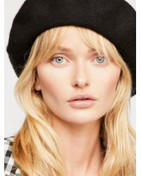 Free People - Margot Slouchy Beret - Lyst