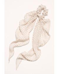 1c85c95641250 Free People Printed Gauze Scarf Pony By Virginia Wolf