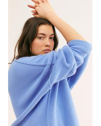 Free People Easy Street Tunic - Blue
