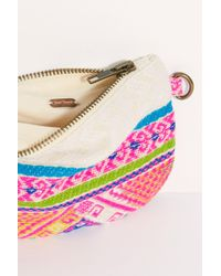Free People - Serape Canvas Coin Pouch - Lyst