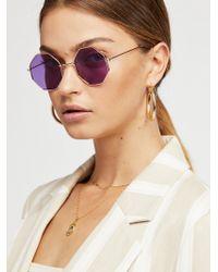 Free People - Hex Yeah Sunglasses - Lyst