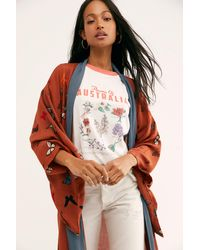 Free People Butterfly Kisses Kimono - Multicolour