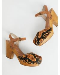 Free People - Downtown Clog - Lyst