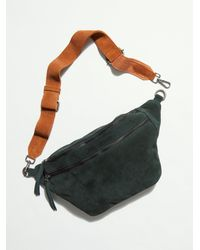 Free People Canyon Suede Sling - Green