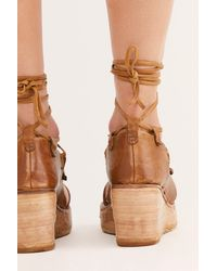 Free People Maya Wrap Wedges By A.s. 98 - Multicolor