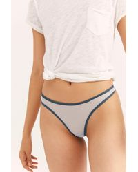 Free People - Whisper Thong By Only Hearts - Lyst