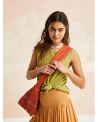 Free People We The Free Waxed Canvas Sling - Multicolor